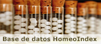 Base de datos HomeoIndex